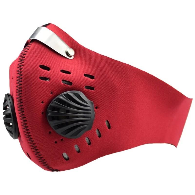 Maschera sportiva antipolvere con filtro, FLG